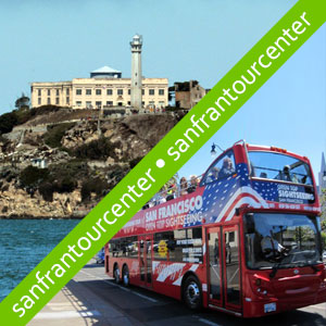Alcatraz Tour and 2 Day Hop-on Hop-off Tour