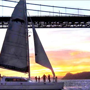 Catamaran Sunset Sail